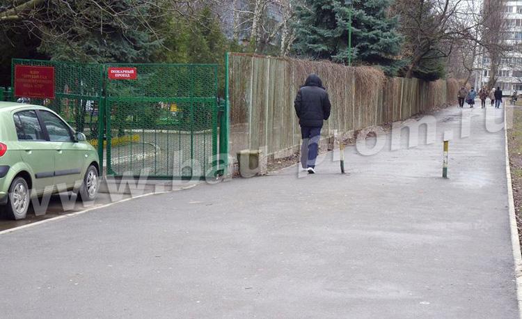 асфальтирование пешеходной дорожки