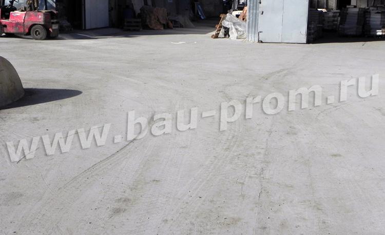 устройство бетонного покрытия