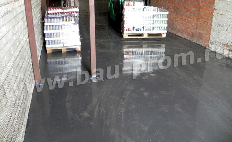 наливные полы в складах алкогольной продукции