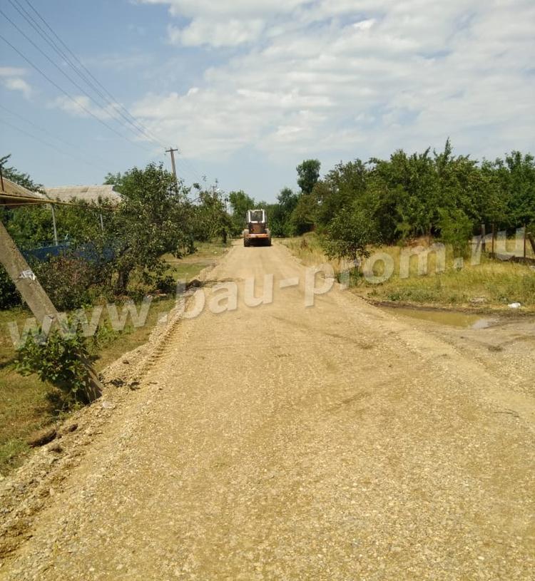ремонт гравийных дорог