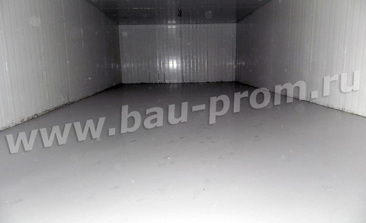 промышленные полимерные полы в холодильных камерах