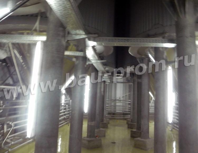 наливные полы в цехах пивоваренного завода