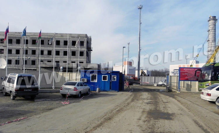 строительство теплоэлектростанции