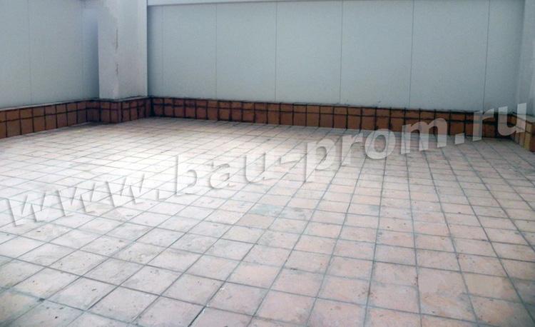 устройство бетонных полов с закладными деталями