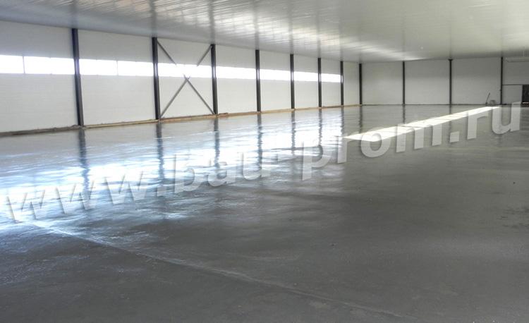 полимерное покрытие промышленных площадей