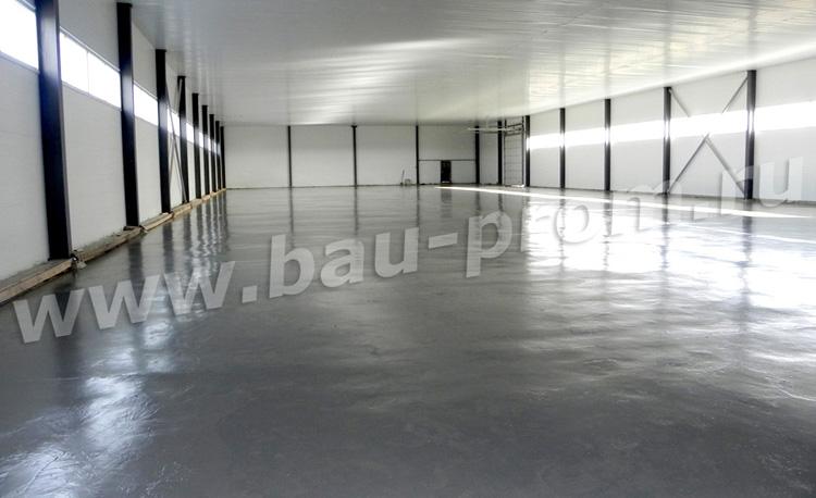 промышленные полы выполнены по старому бетонному основанию