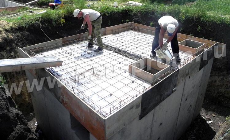 устройство бетонного перекрытия
