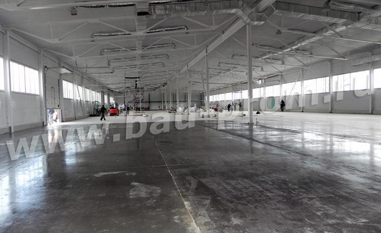 промышленные полы на производстве металлопластиковых окон