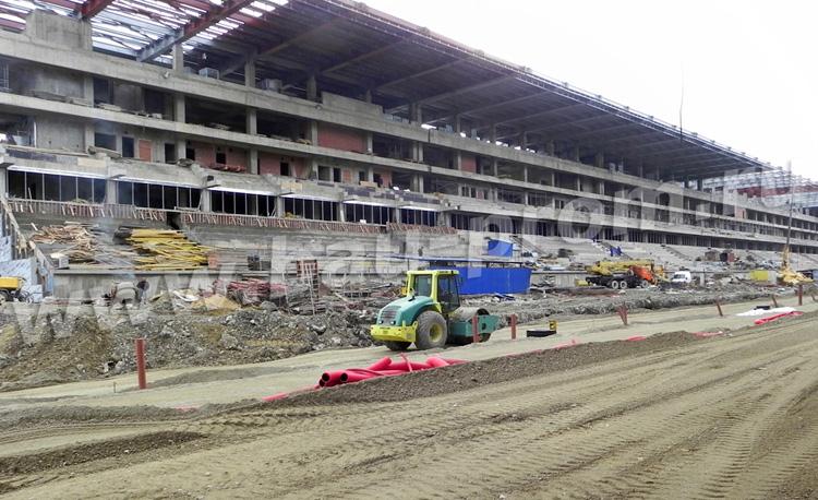 строительство трассы Формула-1