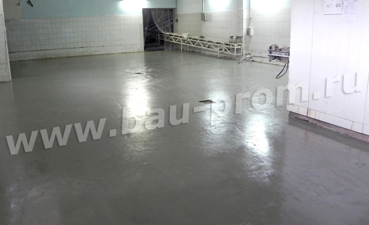 промышленные полы в помещениях с активными химическими средами