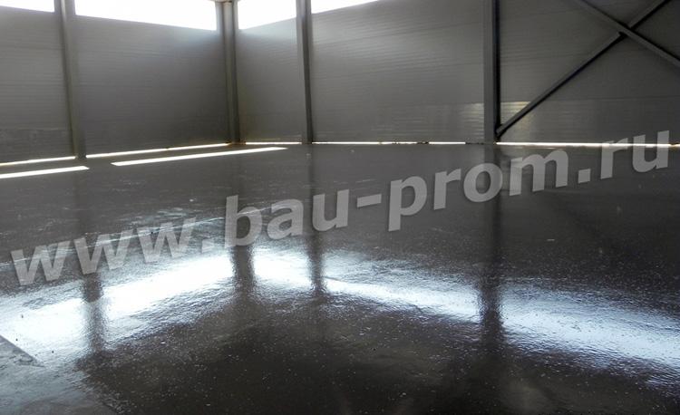 огрунтованная бетонная поверхность под покраску