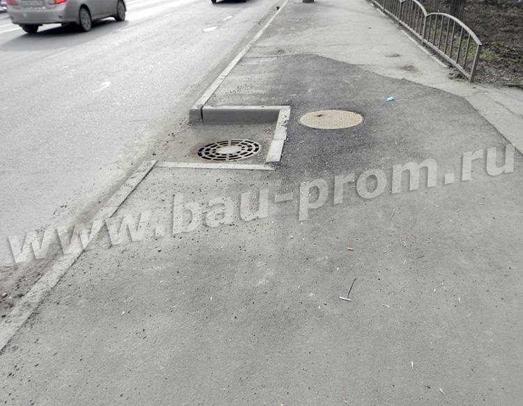 ремонт тротуара после разрытия