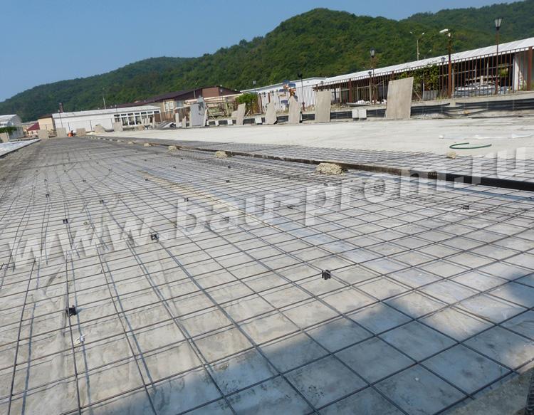 объект готов к принятию бетона