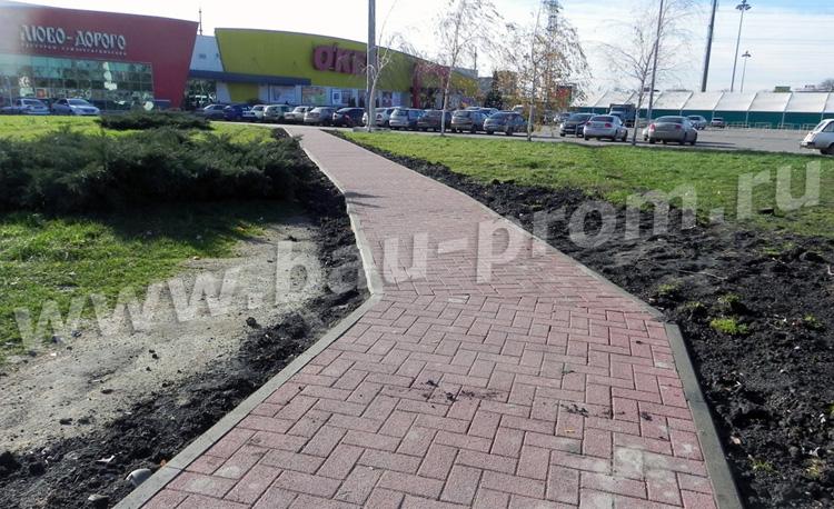 устройство пешеходной дорожки к гипермаркету
