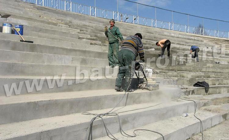 финишная обработка бетонной поверхности