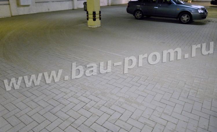 плиточное покрытие парковки