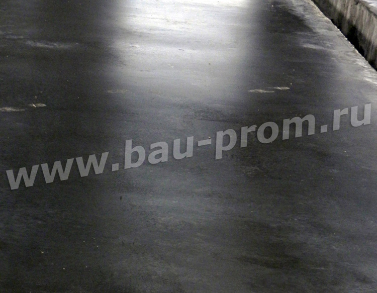 упрочненное бетонное покрытие